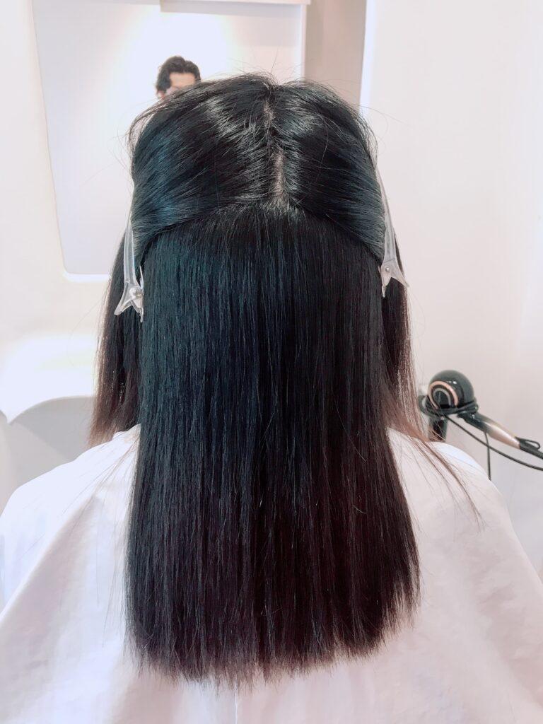 約1年ぶりの縮毛矯正を。 | 岡山の縮毛矯正・くせ毛・ヘアケア専門美容 ...
